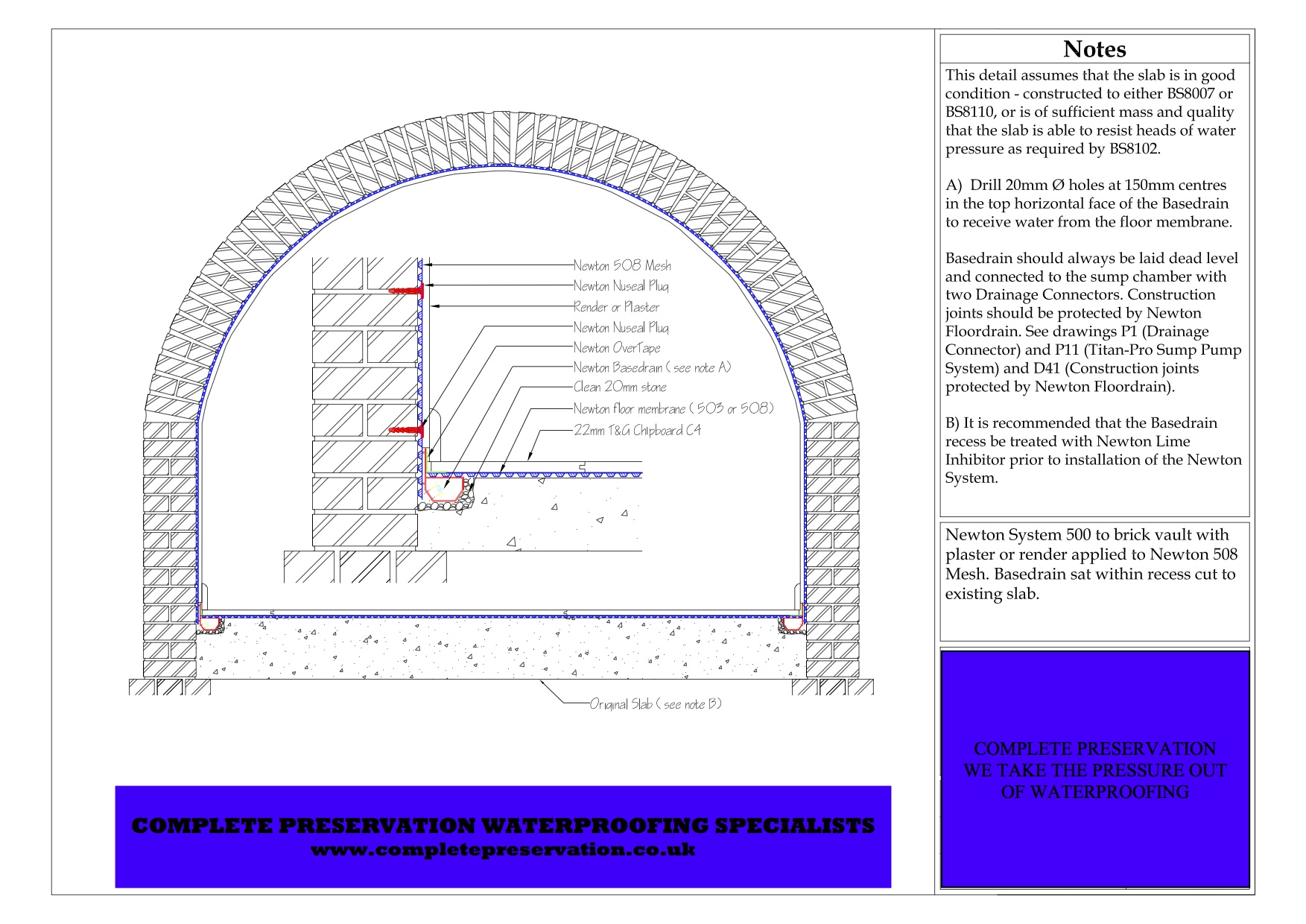 Basement cellar tanking waterproofing designs – Wel e to