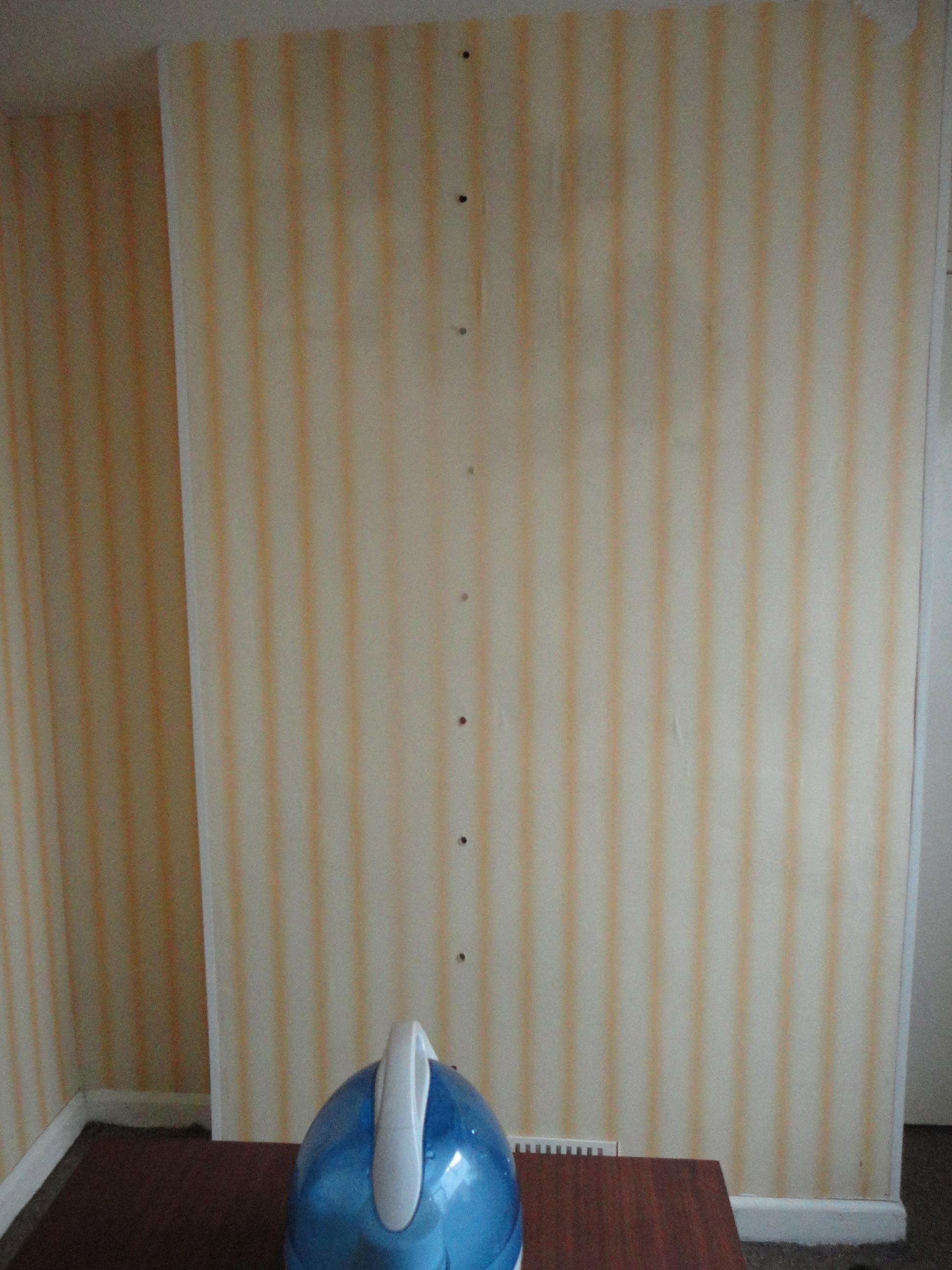 Damp on bedroom walls