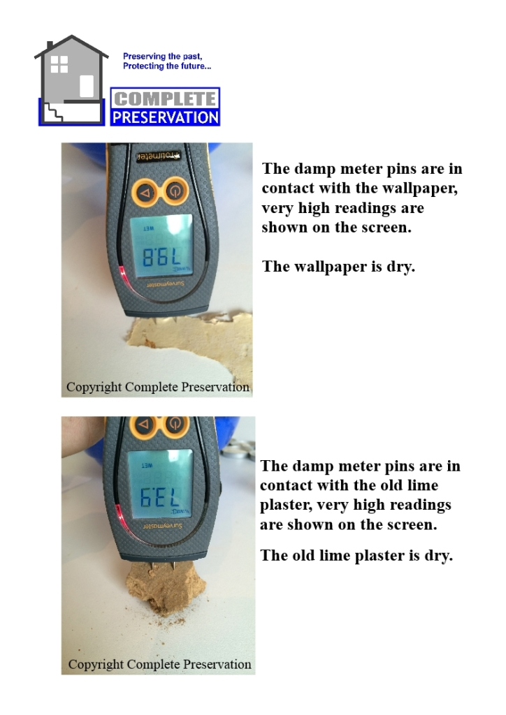 DAMP METER, HIGH READINGS, WHAT DOES IT MEAN!
