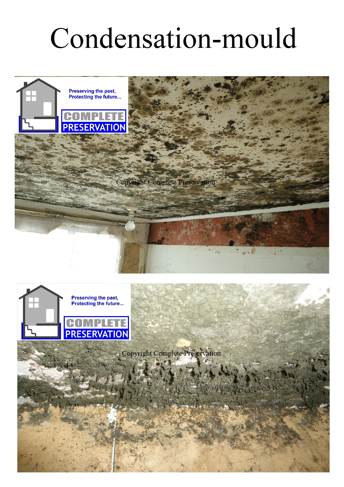 how to tell how long rising damp has been occuring