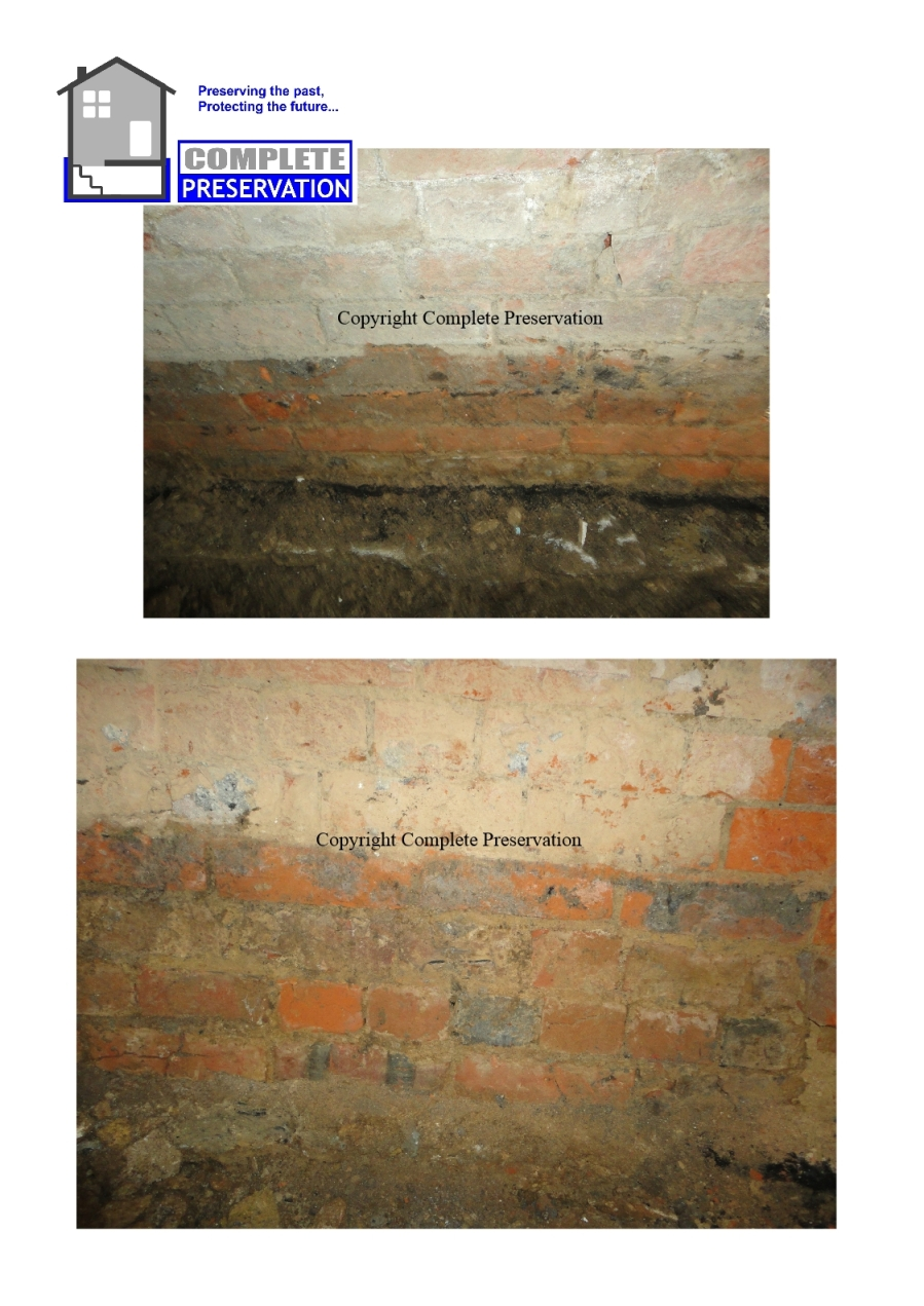 RISING DAMP ON RED BRICK