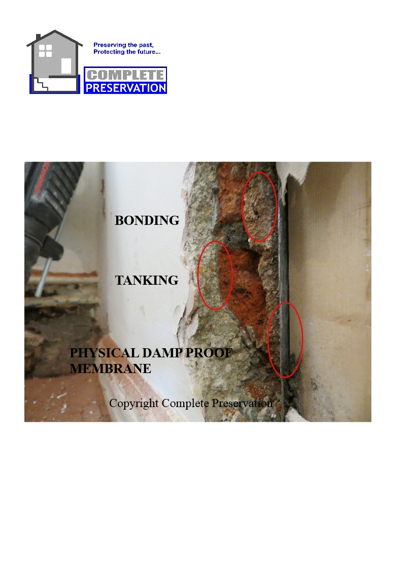 CLOSE UP OF BONDING TANKING DPM