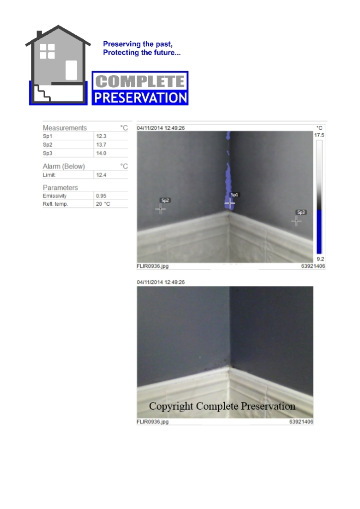 CONDENSATION THERMAL TILE