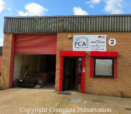 PROPERTY CARE ASSOCIATION TRAINING SHED